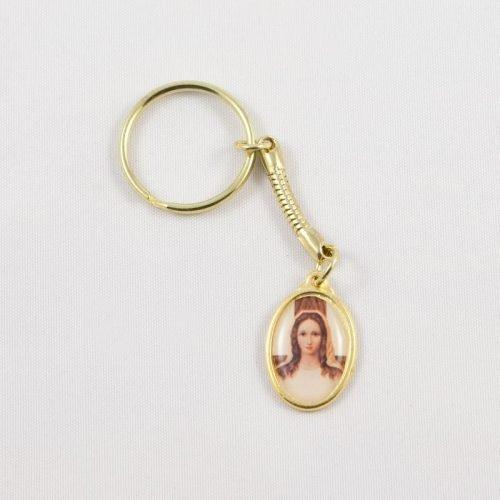 porte-clefs médaille dame de tous les peuples-avers