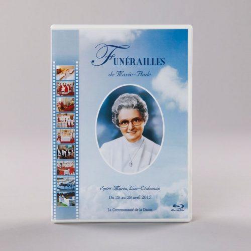 Blu-ray des funérailles de Marie-Paule