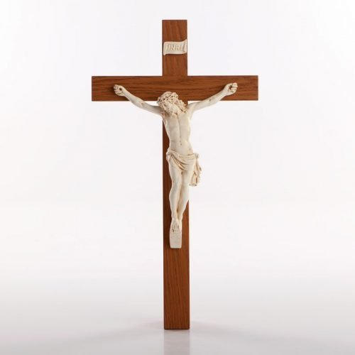 Crucifix with ivory body