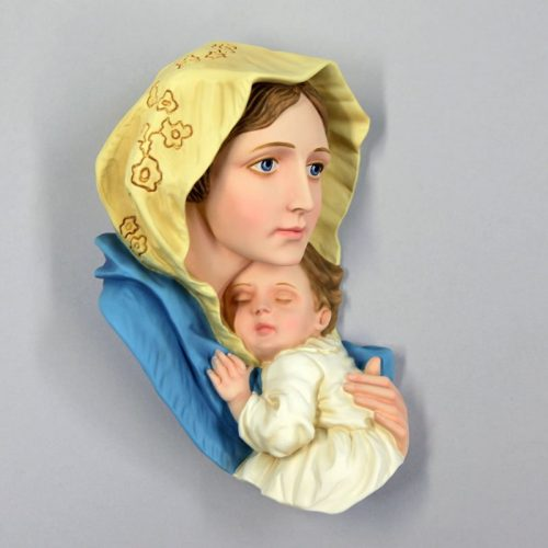 Virgin of the Poor colour