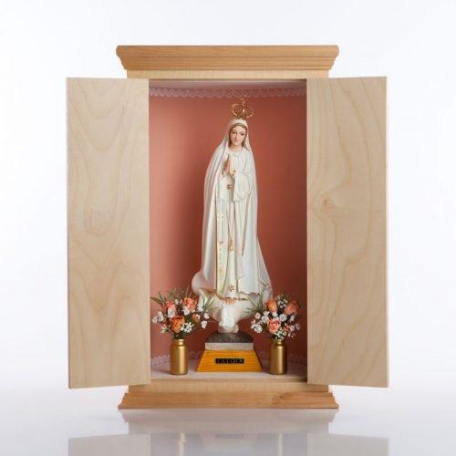 Vierge pèlerine rose