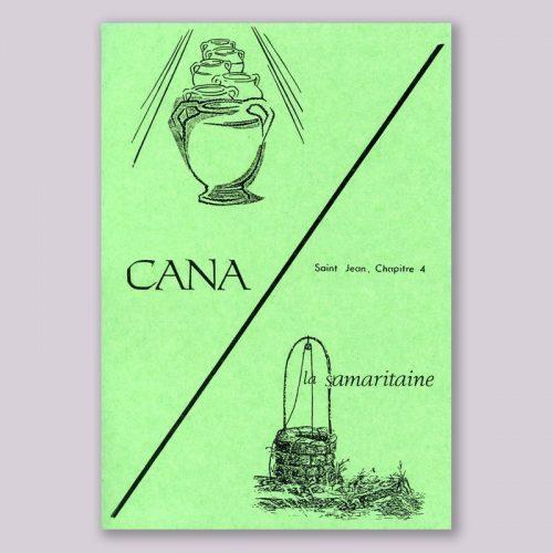 cana et la samaritaine