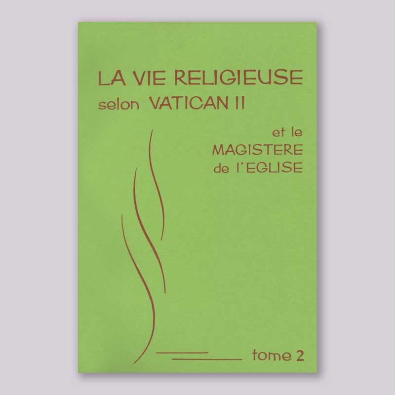 la vie religieuse selon vatican 2-2