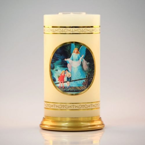 celestial candle-guardian angel