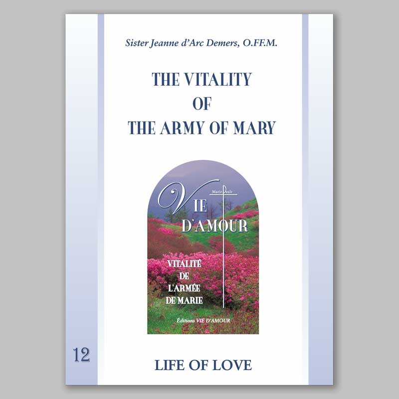 the vitality of the army of mary 12