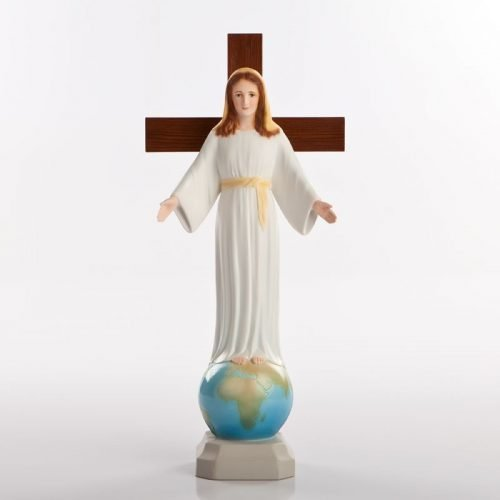 statue of the lady of all peoples pvc-colour-1a