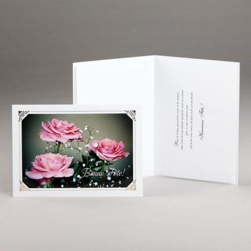 carte anniversaire-roses