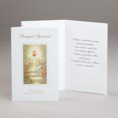 carte bouquet spirituel-la prière est une force