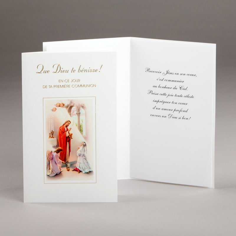 carte communion-filles-que dieu te bénisse