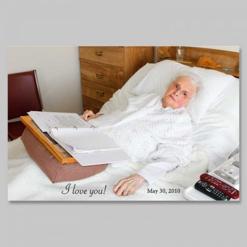 holy picture - marie-paule bedridden
