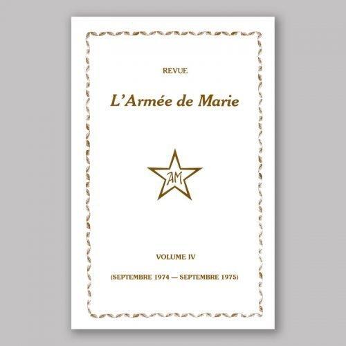 Revue L'Armée de Marie IV