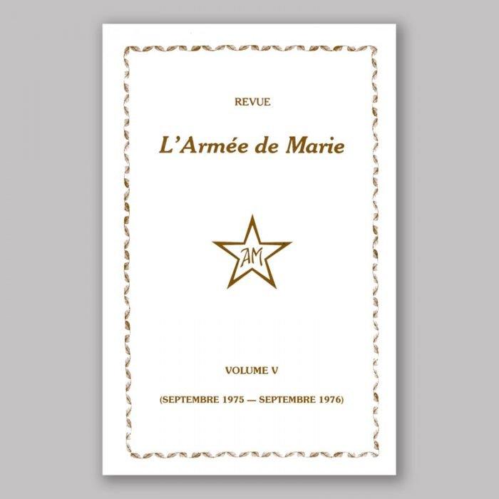 Revue L'Armée de Marie V