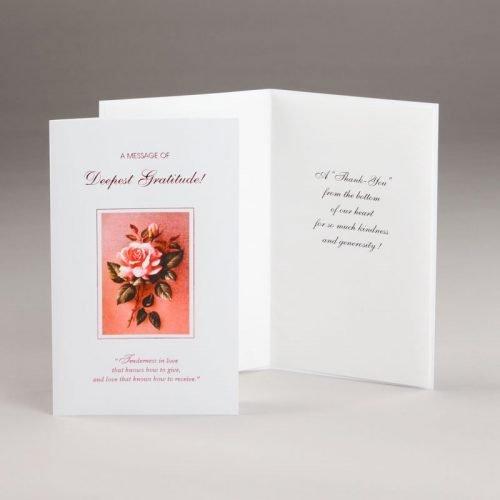 thank you card-deepest gratitude