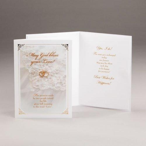 eternal promise wedding card