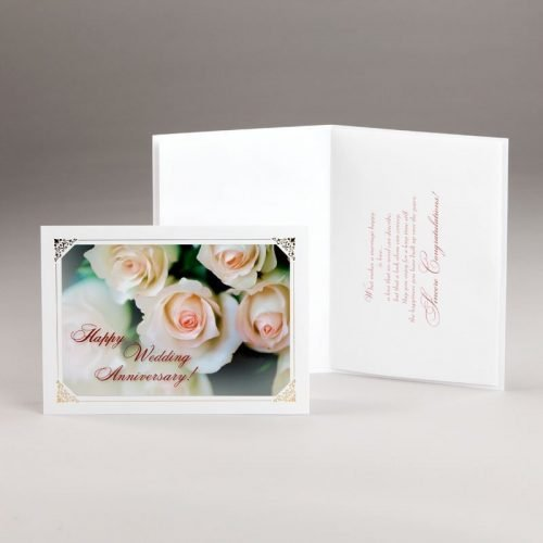 wedding anniversary card-happy anniversary-roses