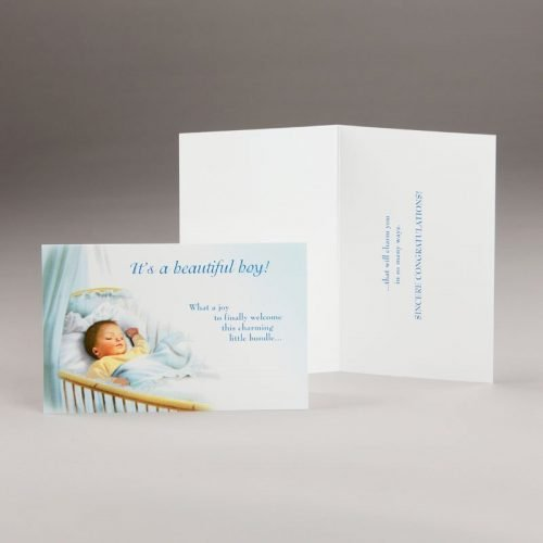 card for a new baby-it's a boy