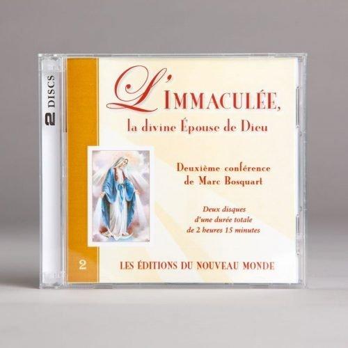 l'immaculée la divine épouse de dieu-cd double
