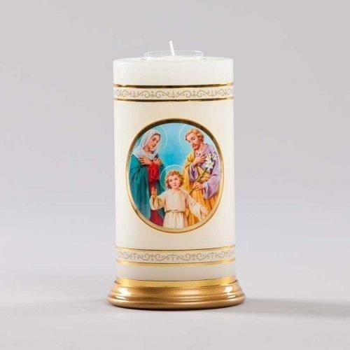 chandelle céleste-sainte famille