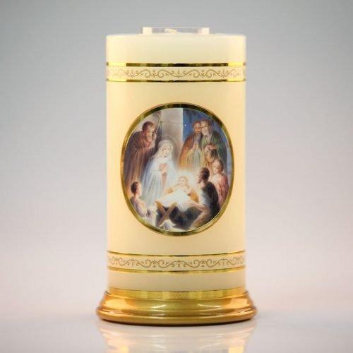 chandelle céleste-adoration des bergers