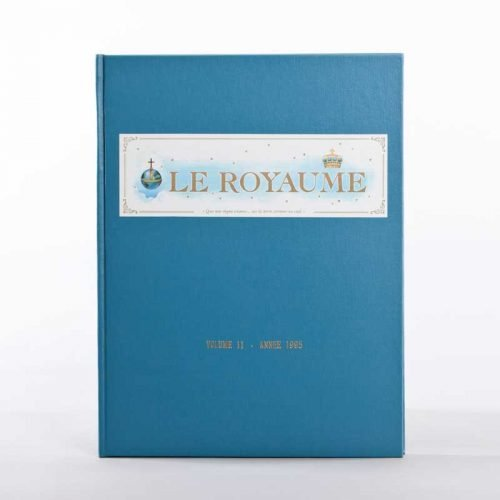 journal le royaume-reliure 11
