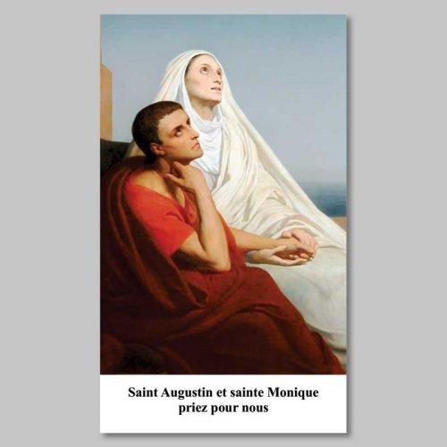 image - saint augustin et sainte monique