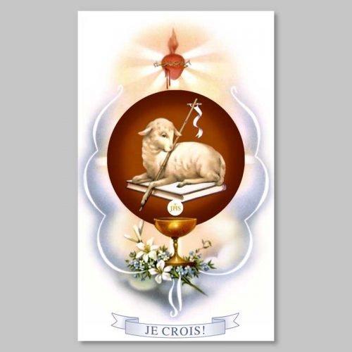 image - l'agneau de l'apocalypse - l'église de jean