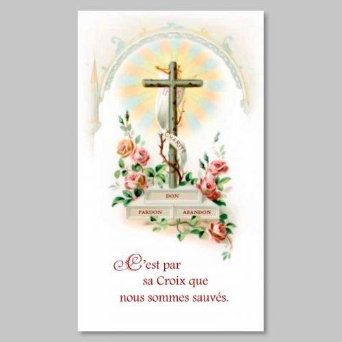 image - la croix rayonnante