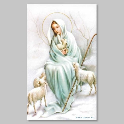 holy picture - divine shepherdess