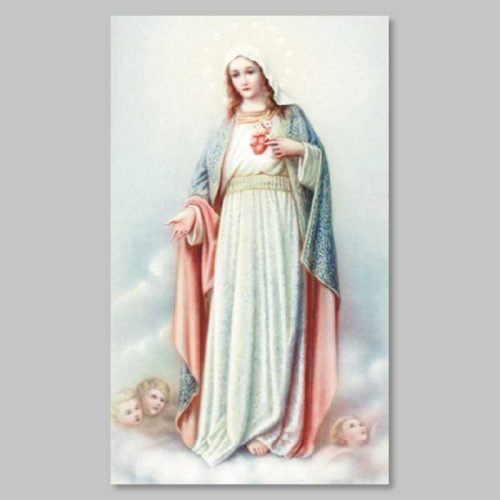 holy picture - immaculate heart
