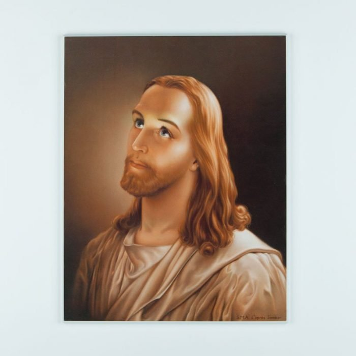 laminated plaque - Jesus