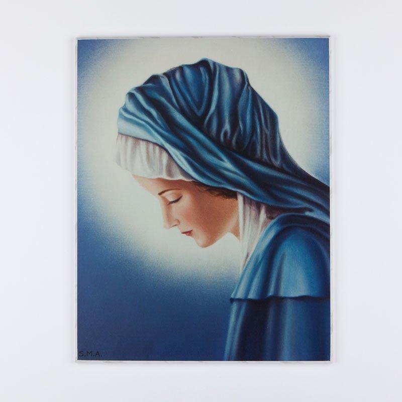 laminated plaque - Mary