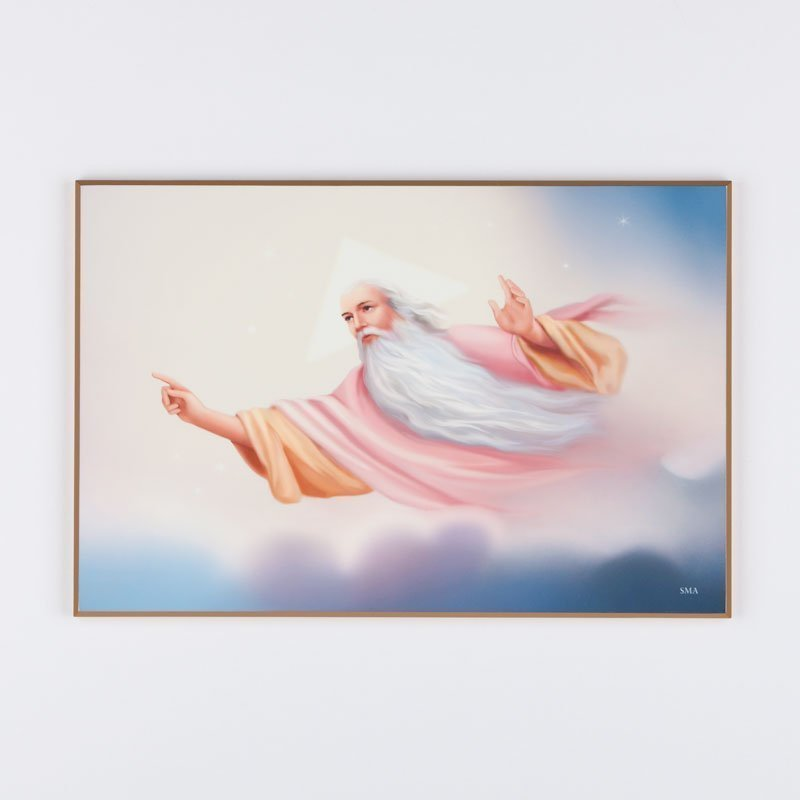 laminated plaque - eternal father