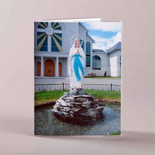 missalet cover - our lady of lourdes - front