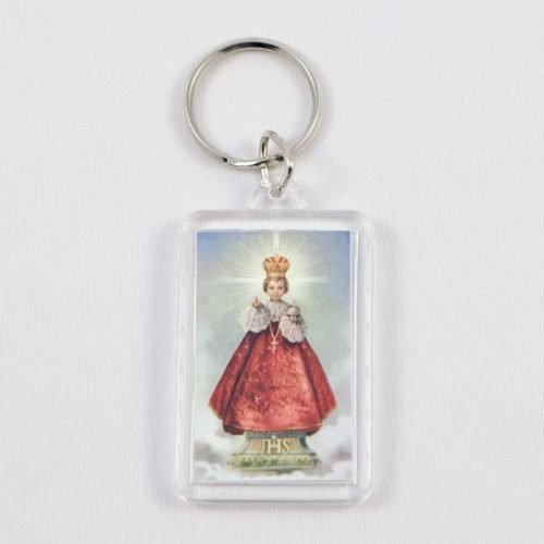 key chain - infant jesus of prague
