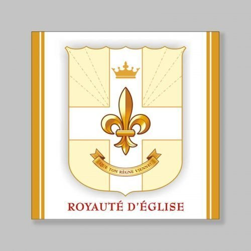 magnetized bookmark - coat of arms of church royalty