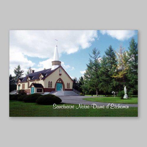 carte postale - sanctuaire notre-dame-d'etchemin