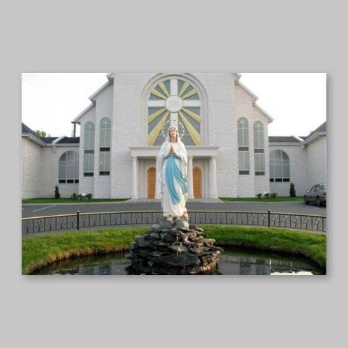 carte postale - la fontaine de grâces