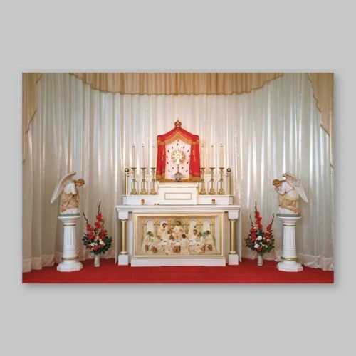 carte postale - le reposoir eucharistique