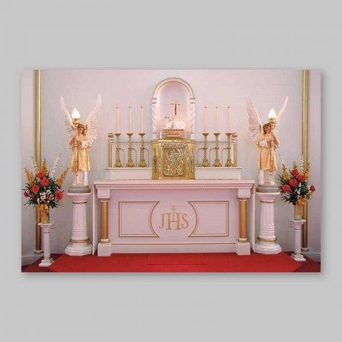 carte postale - le maître autel