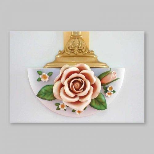 carte postale - la rose épanouie