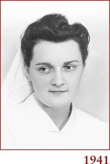 Marie-Paule en 1941