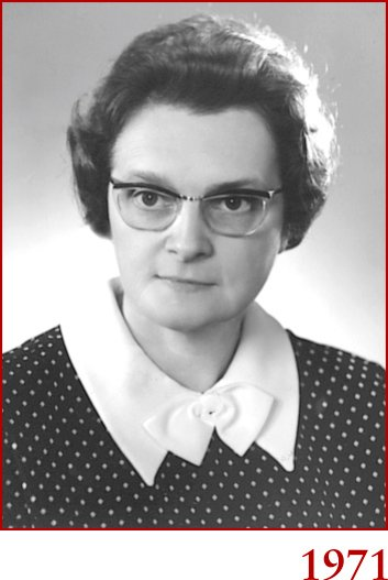 Marie-Paule en 1971
