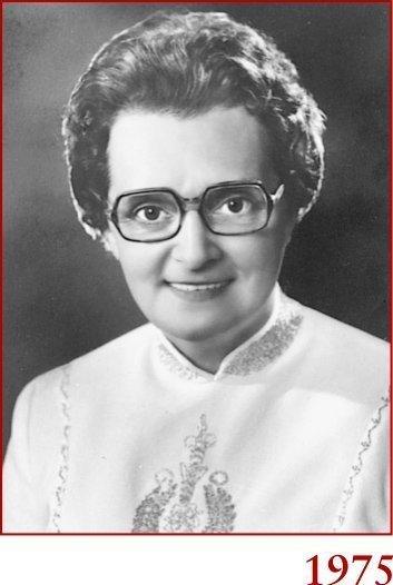 Marie-Paule en 1975