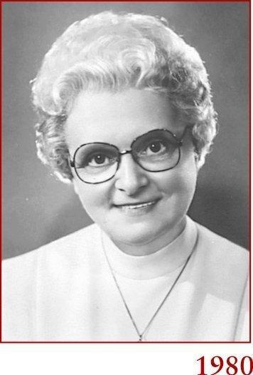 Marie-Paule en 1980
