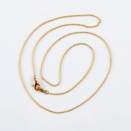 chaîne hamilton dorée - 18 pouces