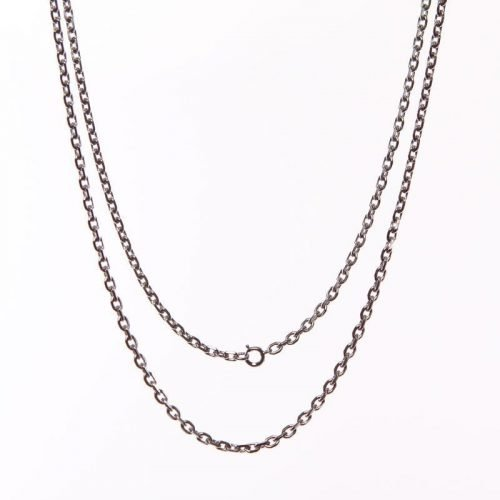 silver-coloured chain fl 110/70 28 inches