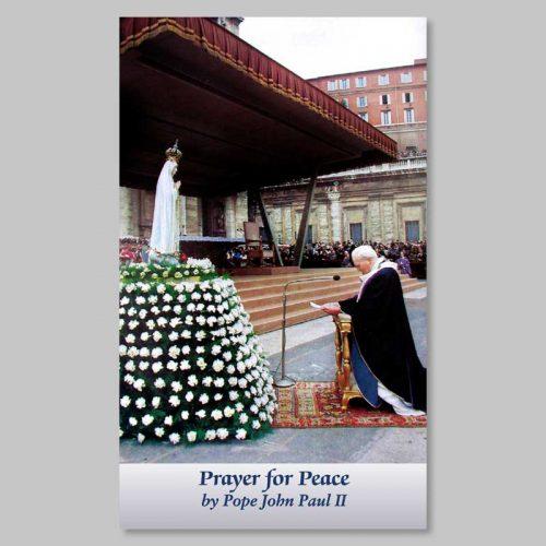 image - prayer for the peace (h.h. john-paul 2)