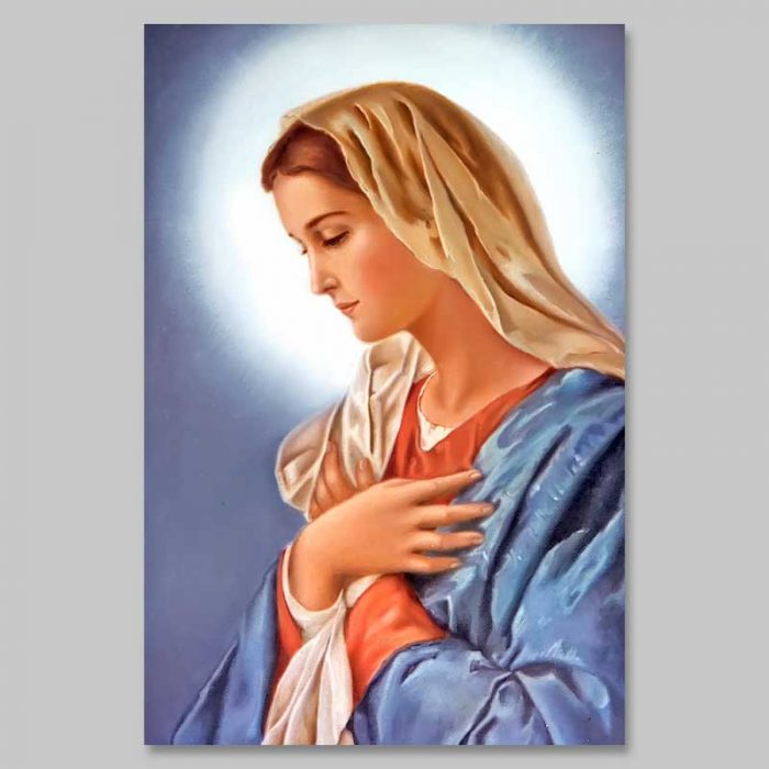 picture of mary - sr. cecile