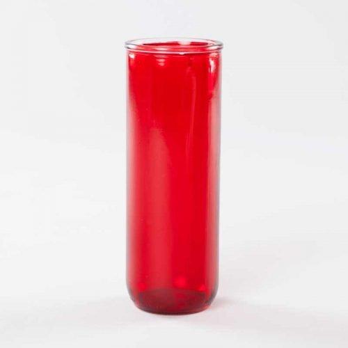 verre à lampion 5 jours - rouge