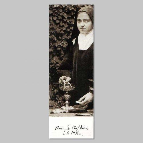 bookmark - thérèse as sacristan